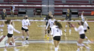Trojan Volleyball starts final homestand with a win over Appalachian State.