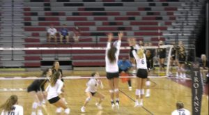 Trojan Volleyball team wraps up perfect home schedule with a sweep of Appalachian State.
