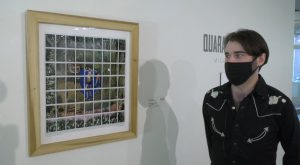 International Arts Center welcomes artist Micah Mermilliod to campus for Art Talk on his work.