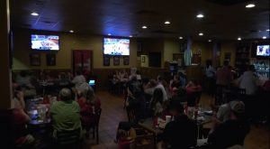 TROY Athletics holds watch party for Women's Basketball's NCAA appearance.