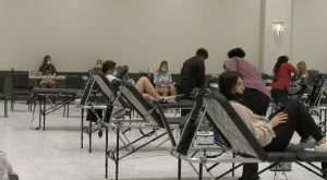 Troy University Greeks compete to help save lives with Blood Drive.