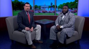 Trojan Talk with TROY Student Government Association VPCA Myles Camel on SGA's Welcome Week activities.