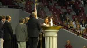 Troy University kicks off the school year with the Odyssey Convocation.