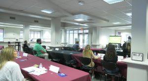 Troy University's IDEA Bank holds pop-up entrepreneurship workshop.