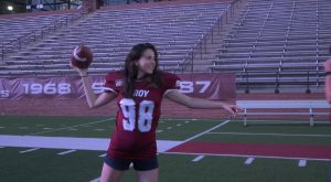 TROY Athletics holds American Football 101 for international students.