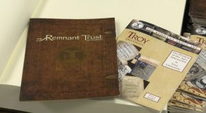 Remnant Trust exhibit brings historic objects to the Troy University Library.