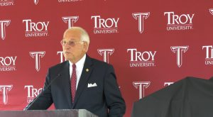 Troy University celebrates 50 years of the Hall School of Journalism.