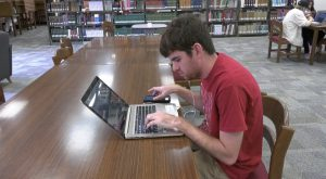 Blind Troy University student adapts to life in college.