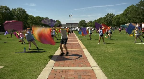 Troy University's Sound of the South holds annual Music Leadership Camp.