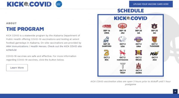 """Troy University joins forces with APDH to """"Kick COVID-19"""""""