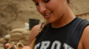TROY students help make major archeological find in Israel