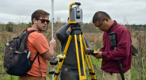 Troy University Surveying and Geomatics Sciences program wins national recognition