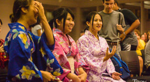Students from Japanese university study southern culture at TROY
