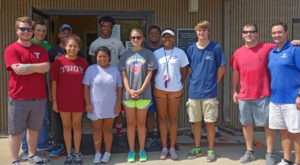TROY students give back during Days of Service