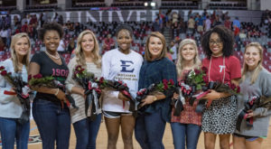 TROY's 2016 Homecoming Court and Maids were announced Wednesday night at the Troy Campus.