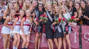Destiny Oliver crowned homecoming queen at TROY