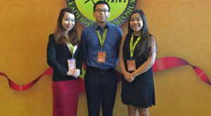 Three TROY students recently took part in the University Scholars Leadership Symposium in Hanoi, Vietnam.