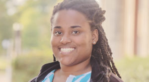 Rhea Martin, a TROY alumna, was selected by the National Campus Kitchens group to join the TROY division as a VISTA team member.