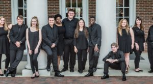 TROY's vocal jazz ensemble, frequency, will perform a free concert Nov. 29.