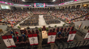 Troy University's Fall Commencement will be held on Dec. 16 inside Trojan Arena. Randy McKinney, vice-chairman of ACHE, will be the keynote speaker.