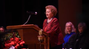 Dr. Imogene Mixson told about 135 Dothan Campus graduates to appreciate the meaning behind their graduations.