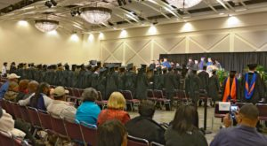 More than 140 graduates from TROY's Phenix City Campus and Columbus/Fort Benning Site took part in fall commencement ceremonies on Friday.