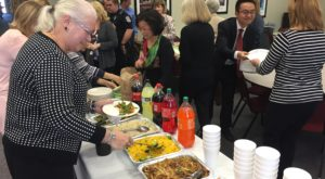 The Confucius Institute at Troy University held an appreciation luncheon for faculty and students at the Dothan Campus.