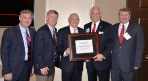 TROY Trustee President pro-tem Dial honored by Higher Education Partnership