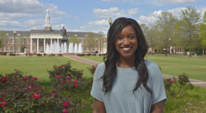 Ashli Morris has been elected SGA president at the Troy Campus.