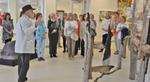 Area groups tour Janice Hawkins Cultural Arts Park