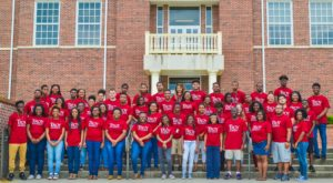 The 2016 class of TROY's Upward Bound program took part in activities aimed at helping them succeed in high school and transition to college.