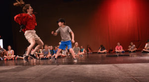 Summer Spotlight on Creative Drama gives kids ages 4-13 a chance to embrace their creativity.