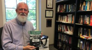 The book, written by Dr. Marty OIliff, is available through the University of Alabama Press.