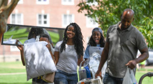 Residence Hall Move In Day kicked off Welcome Week at the Troy Campus. A variety of activities are planned to help students get involved.