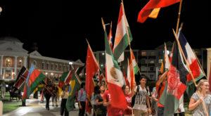 TROY students celebrate International Peace Day