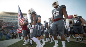 Troy University's annual Military Appreciation football game is set for 5 p.m. on Saturday as the Trojans take on Akron at Veterans Memorial Stadium.