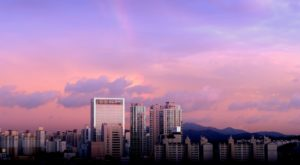 The Seoul skyline at sunrise. Image credit: Janis Rozenfelds/Unsplash