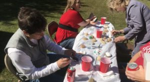 Students, faculty and staff enjoyed food, games and activities Wednesday for Homecoming Week in Dothan.