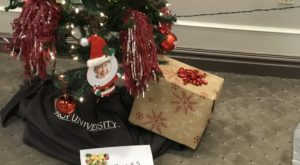 Each of the Dothan Campus departments contributed its own unique tree to the contest.