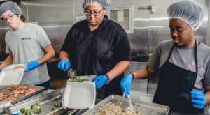 The Campus Kitchen at Troy University recovered almost 5,000 pounds of food and served more than 4,000 meals to the Pike County community in 2017.
