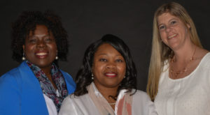 A grant is funding a suicide prevention program led by Drs. Kanessa Doss, Sherrionda Crawford and Shelley Reed.