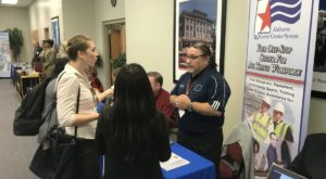 The event featured more than two dozen employers from the Wiregrass area.