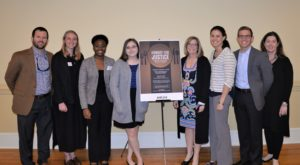 Troy University students and staff took part in the fourth annual Hungry for Justice Summit last week at the University's Montgomery Campus.