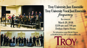 TROY presents jazz concert at Dothan Opera House