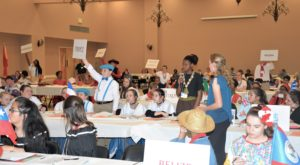 Middle school students explore the world through Model United Nations program