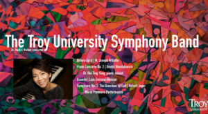 The TROY Concert Band and Symphony Band will present their final concerts of the academic year on April 30 and May 1, respectively.