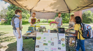 The TROY Environmental Club will present Earth Week activities throughout the week on the university's main quad.