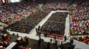 About 950 graduates will take part in the spring commencement ceremony on Friday, May 11, at the Troy Campus.
