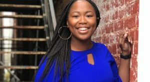 Veshonte Brown won a $5,000 cash prize and a one-year paid internship to the theater of her choice, the Williamstown Festival in Massachusetts.