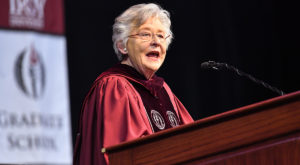 Gov. Kay Ivey encourages Troy University graduates to commit to leadership
